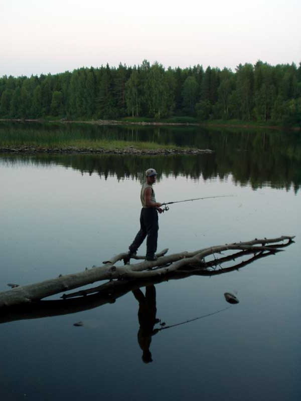 Река Шуя Рыбалка