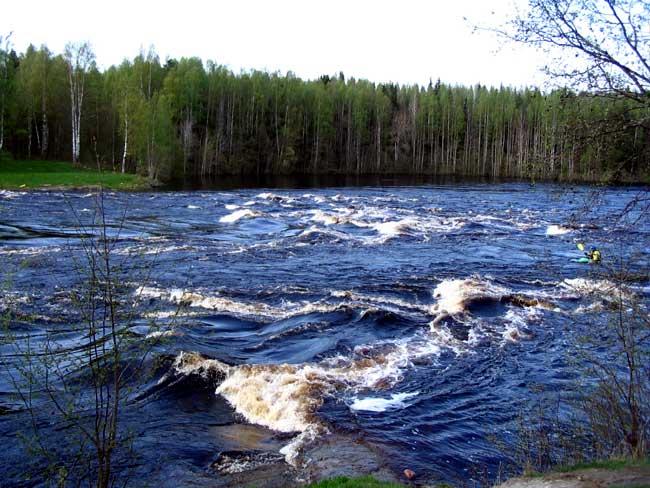 река уксунйоки рыбалка